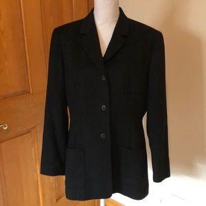 Women's Lands End wool/cashmere blazer 14